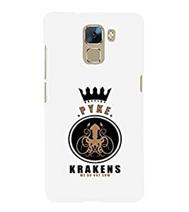 EPICCASE Pyke krakens Mobile Back Case Cover For Huawei Honor 7 (Designer Case)