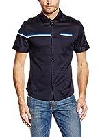 Dirk Bikkembergs Camisa Hombre (Azul Marino)