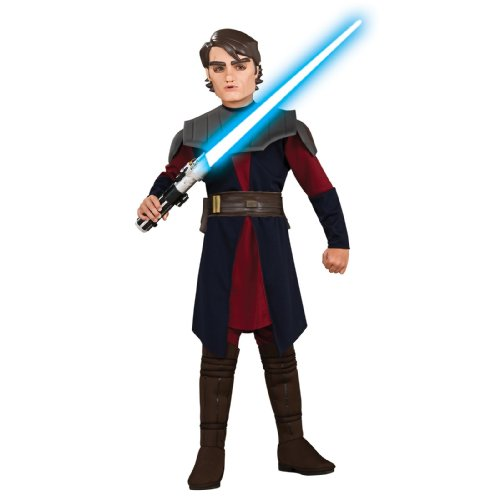 Star Wars Animated Deluxe Anakin Skywalker Child Costume - Kid's Costumes