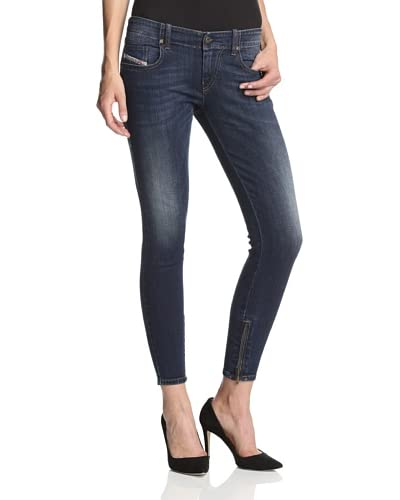 Diesel Women's Grupee Zip Super Skinny Jean