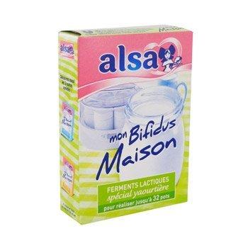 Alsa ferments lactiques spécial yaourtière - MON BIFIDUS MAISON