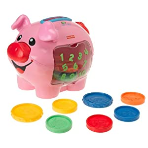 Click to buy Preschool Activity Ideas: Fisher-Price Laugh & Learn: Learning Piggy Bank from Amazon!