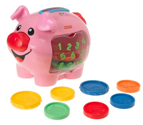 Fisher price laugh learn learning piggy bank buyfisherpricetoys - Counting piggy bank ...