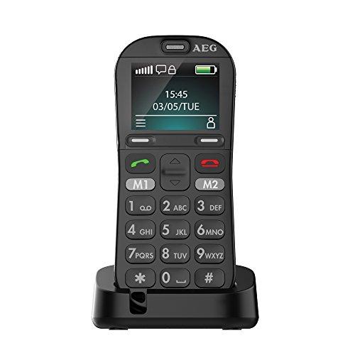 AEG Großtasten Handy, Simlock frei mit 1.8