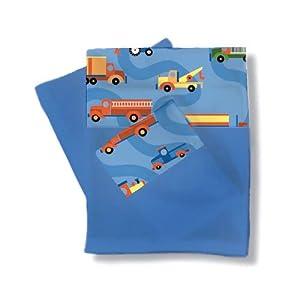 Room Magic Full Sheets and Pillowcase Set, Boys Like Trucks