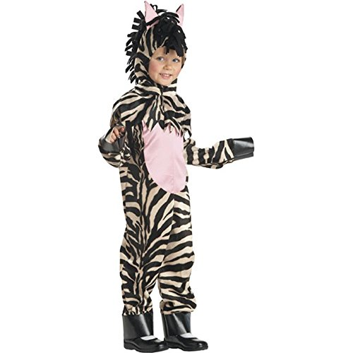Child's Toddler Zebra Halloween Costume (2-4T)