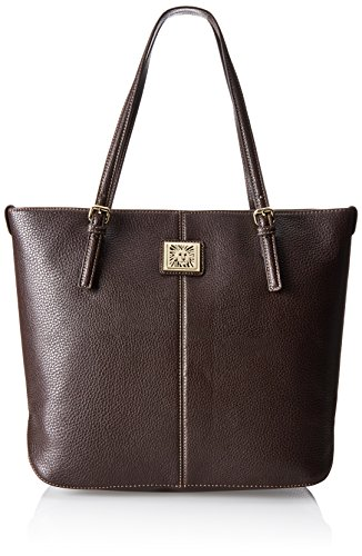 Anne Klein Perfect Large Tote,Bark,One Size