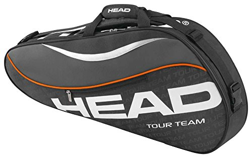 HEAD Tour Team 3R Pro Tennis Bag, Black/Gray