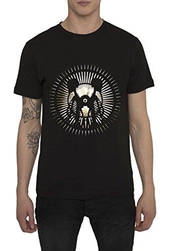 Camisetas-de-Moda-Designer-Vintage-Fashion-Rock-para-Hombre-Camiseta-Negra-con-Estampada-LA-LUNA-Cuello-redondo-Manga-corta-Algodn-Alta-calidad-Ropa-Urbana-Cool-para-Hombres-S-M-L-XL-XXL