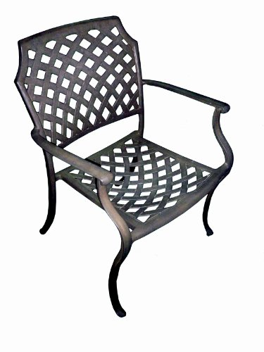 american-trading-company-weave-design-empire-antique-bronze-solid-cast-aluminum-stackable-arm-chair-