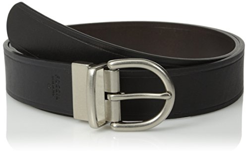 Fossil Fossil Women's Reversible Metal Keeper Belt, Black, X-Large