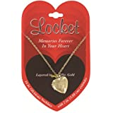 Love Locket Pendant & Chain! Silver & Gold Styles! (Sold Individually)