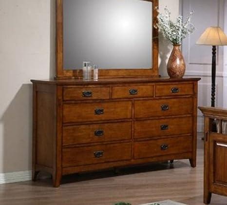 Sunset Suites Trudy 9 Drawer Dresser
