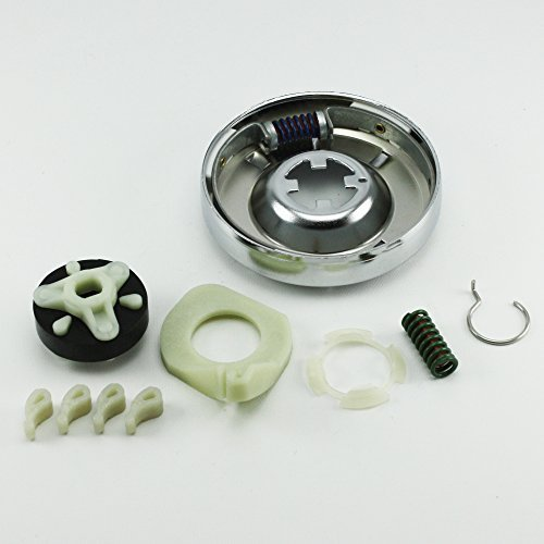 NEW OEM FACTORY HEAVY DUTY CLOTHES WASHING MACHINE MAINTENANCE REPAIR KIT INCLUDES PARTS 285785, 80040, AND 285753 (CLUTCH, COUPLING, & AGITATOR DOGS) by Whirlpool