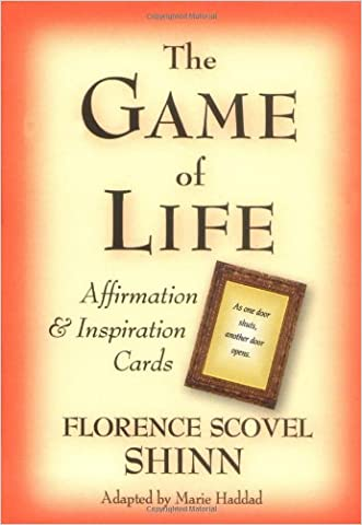 The Game of Life Affirmation & Inspiration Cards written by Florence Scovel-Shinn