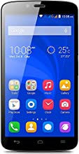 Honor Holly Smartphone (5 pollici, Touchscreen, Quad-Core, 1GB RAM, 16GB ROM, fotocamera principale da 8MP, fotocamera frontale da 2MP, Android 4.4, Emotion Laucher) Bianco