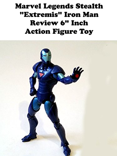 "Marvel Legends Stealth ""Extremis"" IRON MAN Review 6"" inch action figure toy"