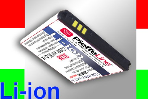 Batteria per SAMSUNG GT C6712 i5510 GALAXY MINI PRO S5250 WAVE S5330 WAVE PRO S5570 GALAXY NEXT S5750 WAVE S7230 WAVE da 1200 MAH A LITIO