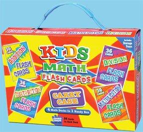 Kids Math Flash Cards (4 Math Desks in 1 Handy Box)