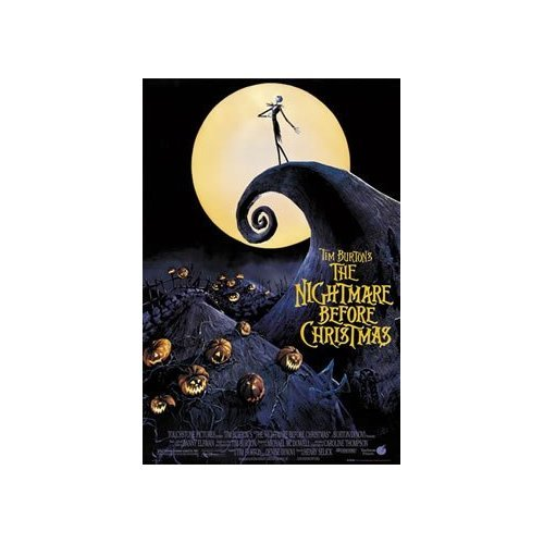 THE NIGHTMARE BEFORE CHRISTMAS-POSTER NEW Moon, 61 X 91 CM