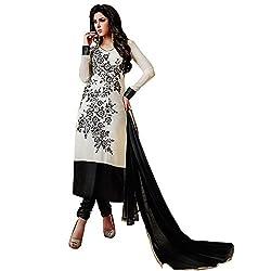 StarMart Heavy Georgette Dress Material Salwar Kameez SM19002