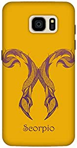 The Racoon Lean Scorpio hard plastic printed back case / cover for Samsung Galaxy S7