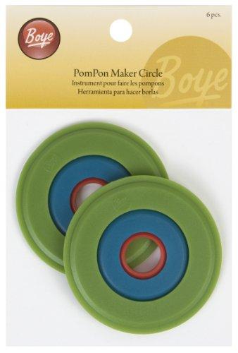 Simplicity Boye - Utensilio circular para hacer pompones de lana