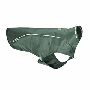 Ruffwear Sun Shower Rain Jacket for Pets, XX-Small, Granite Gray