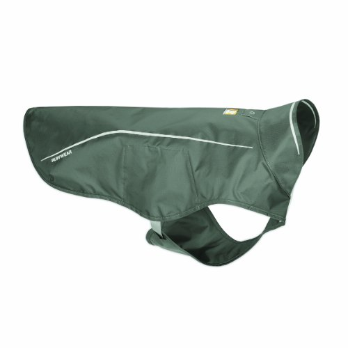 Ruffwear Sun Shower Rain Jacket for Pets, Medium, Granite Gray