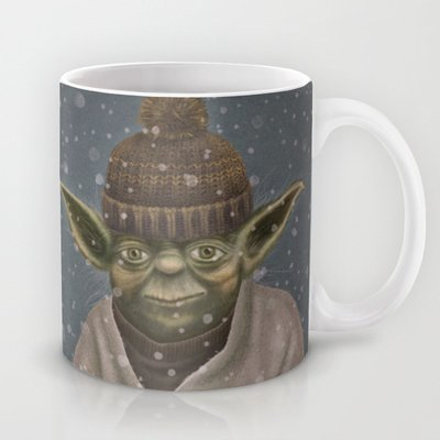 Society6 - Christmas Yoda Coffee Mug By Lime
