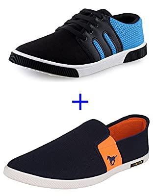 SCATCHITE Combo Pack of Loafers (Casual Shoe + Sneaker)