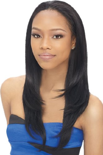 Outre Quick Weave Synthetic Half Wig - Livia - Color 1B