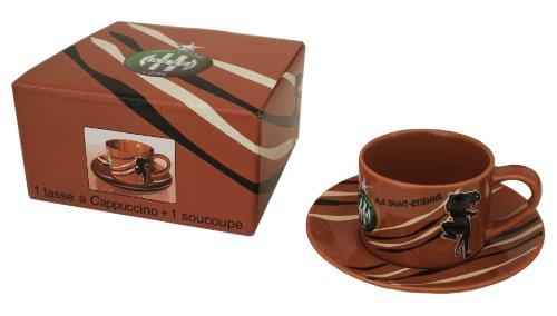 comparamus coffret tasse caf cappuccino collection officielle asse as saint etien. Black Bedroom Furniture Sets. Home Design Ideas