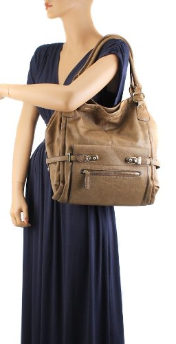 Scarleton Shoulder Bag H114804 - Brown
