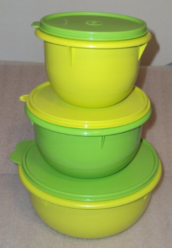 Tupperware Classic Mixing Bowl Set 12 8 4 Cups