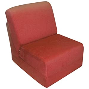 Fun Furnishings Teen Chair Brown Micro Suede from Fun Furnishings