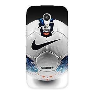 Special Soccer Multicolor Back Case Cover for Moto G 2nd Gen