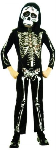 Skeleton Child Costume Small