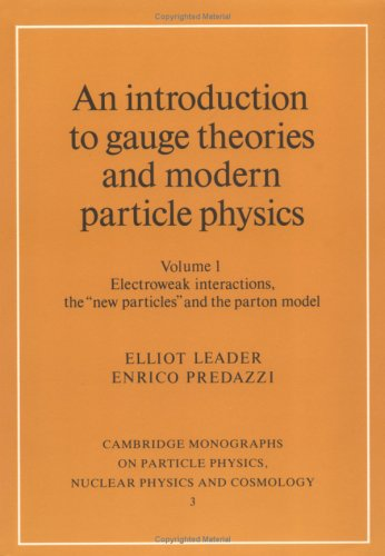 An introduction to gauge theories and modern particle physics.
