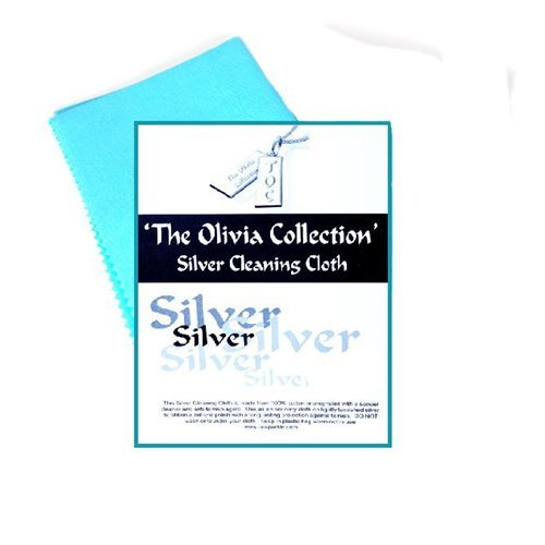 Single TOC Silver Jewellery Cleaning & Polishing Cloth 220mm x 315mm