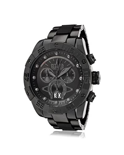 Invicta Men's 0334 Reserve Collection Leviathan II Black Ion-Plated Stainless Steel Watch
