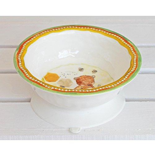 Baby Cie Dani Doux Comme Du Miel Textured Suction Bowl front-873116