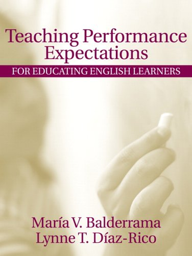 Teaching Performance Expectations for Educating English...