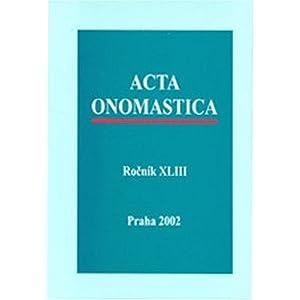 Acta Onomastica