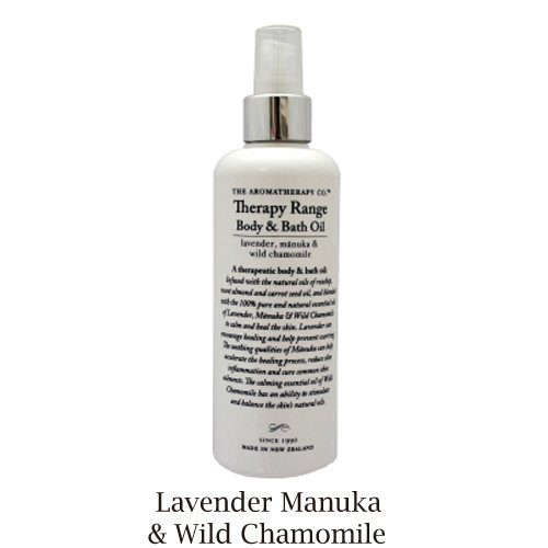 ボディ&バスオイル 180ml 9420005324962 The Aromatherapy Company Therapy Range