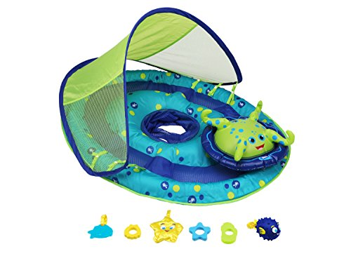 Swimways Baby Spring Float Activity Center with Canopy (Center Baby compare prices)