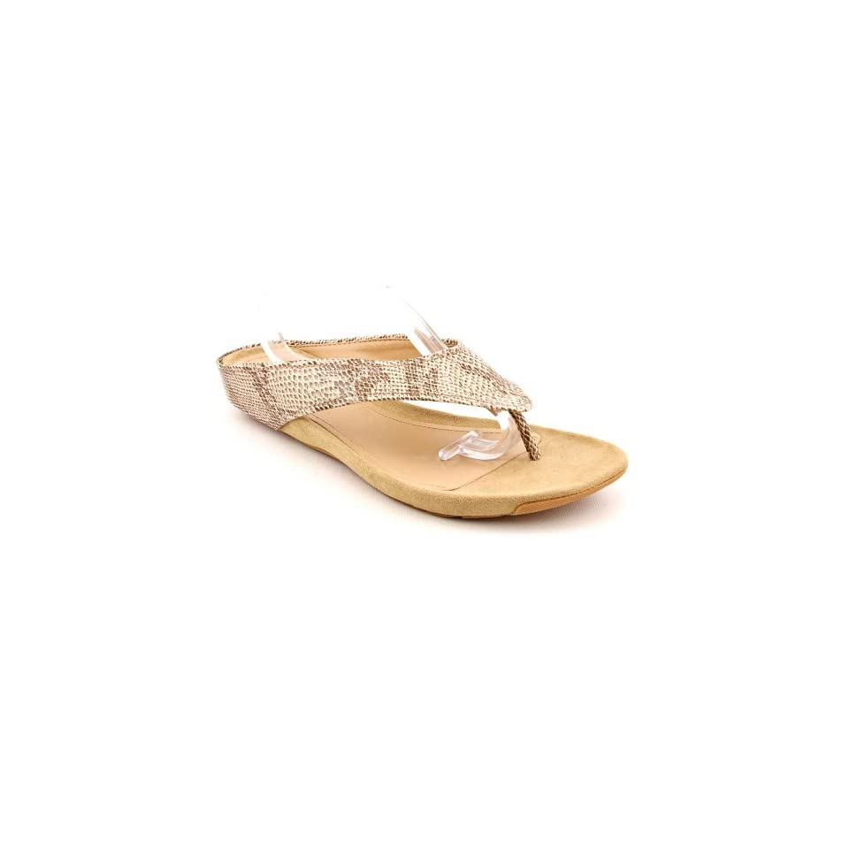 Kenneth Cole Reaction Womens Water Park Thong Sandal, Brown, Size 8.0