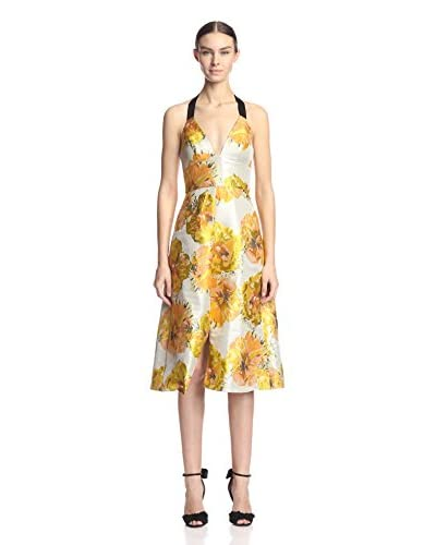 A.B.S. by Allen Schwartz Women's Floral Halter Dress
