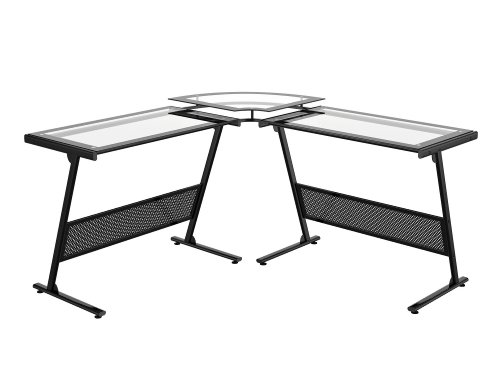 Buy Low Price Comfortable Z-Line Delano L Computer Desk (B002I637RM)
