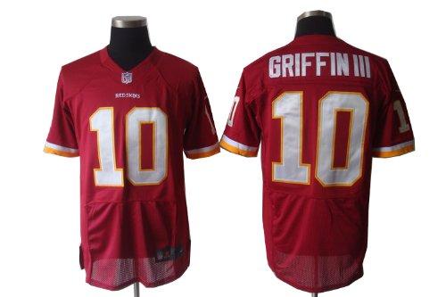 Football Jerseys Washington Redskins #10 Robert Griffin III red/white elite jerseys (RED, 40(M))